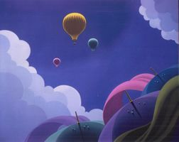 Air Balloons - Claude Theberge Paintings