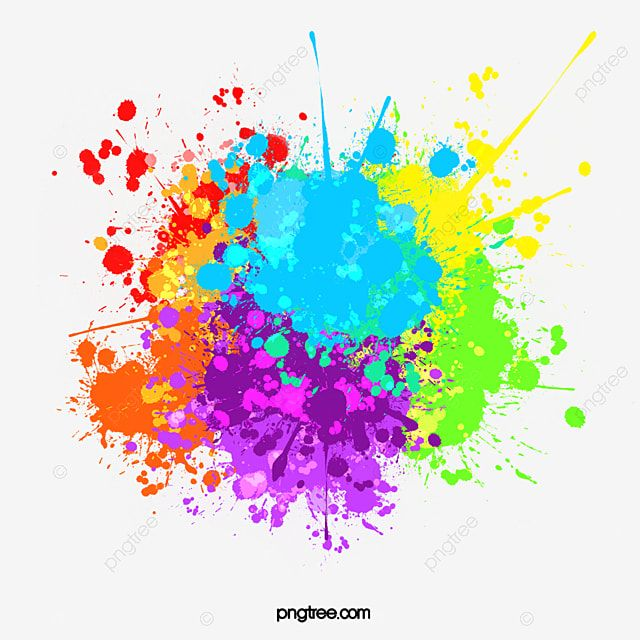Colour Splash Multicolor Mixed Chinese Dollar Pigment Gorgeous Splash Multicolor Png Transparent Clipart Image And Psd File For Free Download Watercolor Splash Splash Images Color Splash