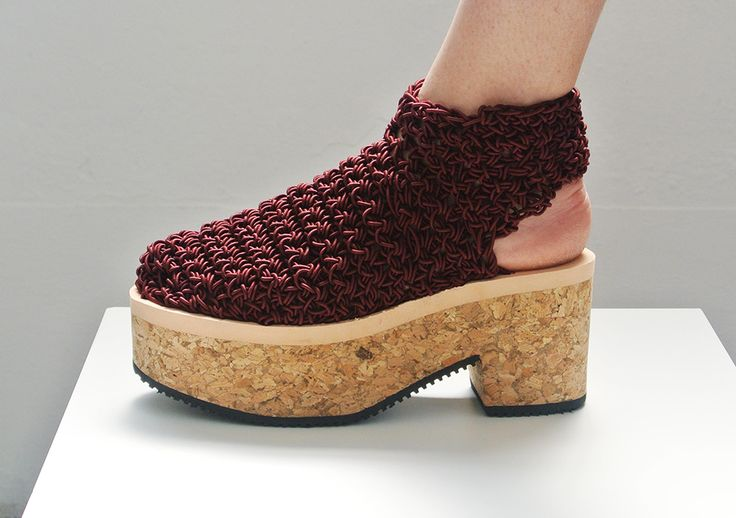 Arielle de Pinto LVMM - Open Heel Boot - Maroon