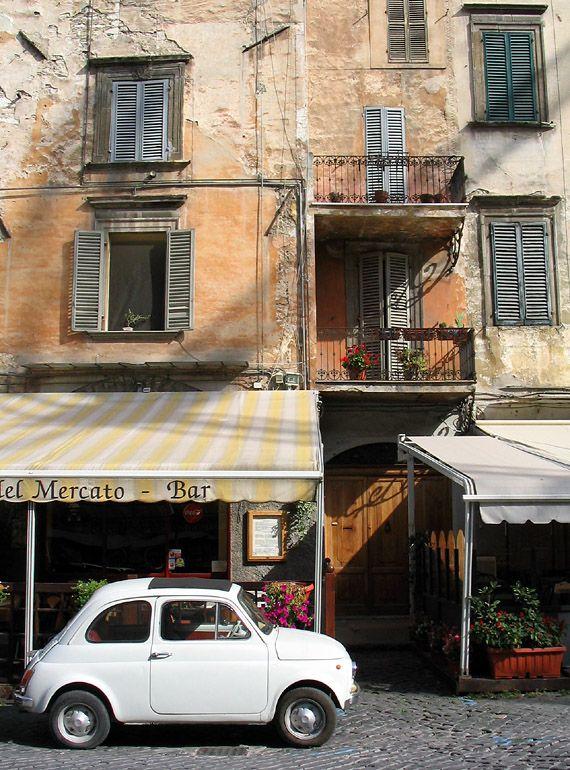 Piazza del Mercato, Spoleto, Umbria - Italy
