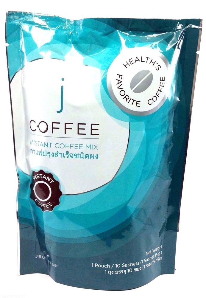 Jeunesse J Coffee Sachets Instant Coffee Mix Healthy Burn Collagen Vitamin Gluta #Jeunesse