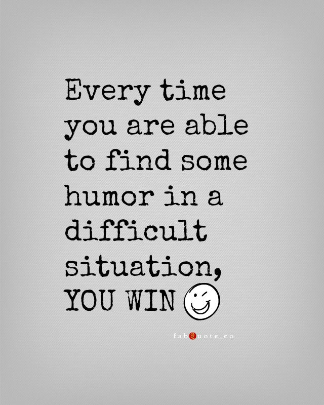 I crack jokes in every situation, that's just how I deal with things. Good, bad or sad. {HKM}