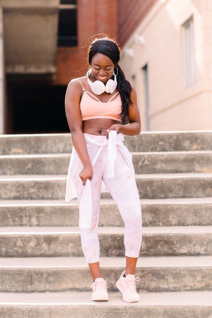 ccadc93c18ac46 Top black fashion blogger GoodTomiCha shares her 7 favorite places to find  affordable workout clothes. Sorry Lululemon.