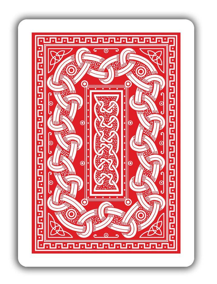 Triplicate Back Cards Playing Cards Cartomancy