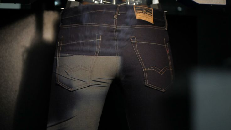#REPLAY #LaserBlast is a revolutionary method of using lasers to add a 'washed effect' to #jeans without the need to wash the jeans over and over. This eco-friendly method of preparing denim uses upto 85% less water and saves energy as well as leaving the Replay jeans looking amazing. #Laserblast, where art and technology meet.