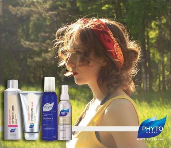 """""""ΜΑΛΛΙΑ ΧΩΡΙΣ ΟΓΚΟ""""   Λουστείτε με phytovolume shampoo + phytobaume volume και εφαρμόστε μετά την πετσέτα σε νωπά μαλλιά phytovolume actif ή phytopulp  και στεγνώστε ανασηκώντας τις ρίζες των μαλλιών σας.Ολοκληρώστε το στέγνωμα τυλίγοντας τα μαλλιά σας σε μέγαλα ρολά και αφήστε τα όσο περοσσότερο μπορείτε.Ελευθερώστε τα ρολά και απολαύστε το αποτέλεσμα του όγκου στα μαλλιά σας με τον πιο φυσικό τρόπο."""