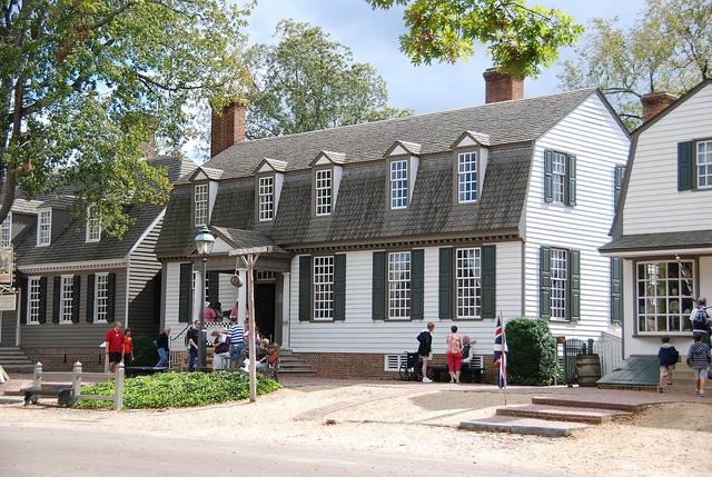 Colonial Williamsburg....Kings Arms Tavern