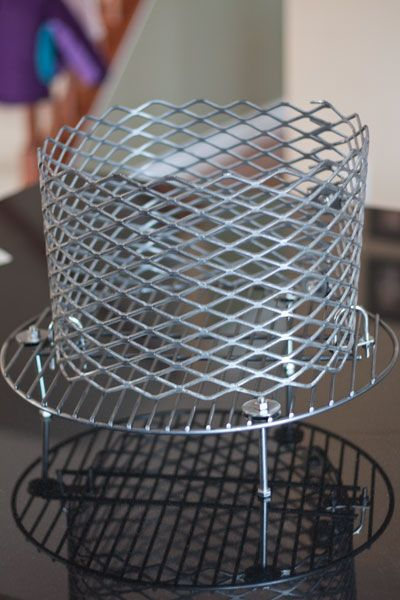 Instructions on building a no weld charcoal basket for an Ugly Drum Smoker