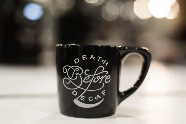 Death Before Decaf - Not Neutral Mug – Department of Brewology