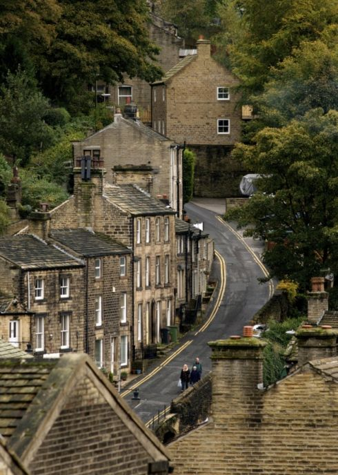 #Holmfirth prepares to welcome the #TourdeFrance Grand Depart. #Biking #Cycling #Exercise