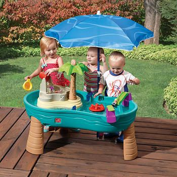 Step2® U2013 Splish Splash Seas Water Table With Umbrella
