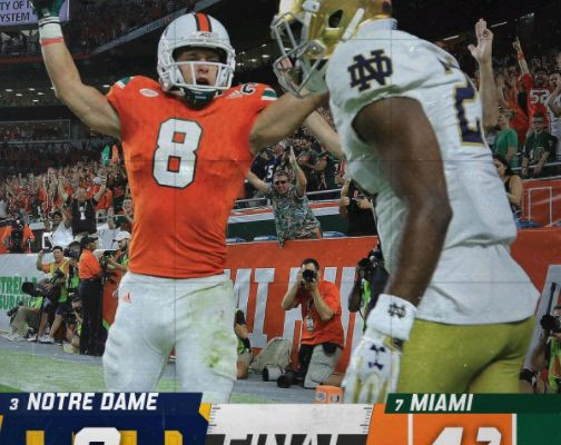 Programming Insider: Saturday Ratings: Notre Dame/Miami College Football Match-Up Leads ABC to Victory