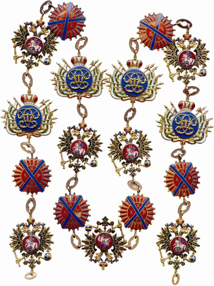 Order of Saint Andrew - Collar VERY HIGH QUALITY PICTURE