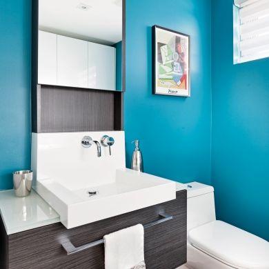 Vague de fraîcheur pour la salle d'eau - Salle de bain - Inspirations - Décoration et rénovation - Pratico Pratique