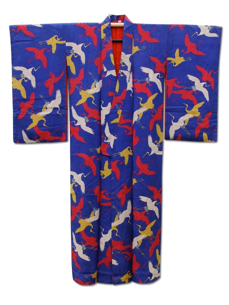 'Flight of Fancy' kimono  Love ♡ this kimono sooooo much! It's just fantastic ☆