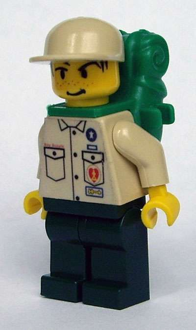 Lego Boy Scout - I HAVE to find one of these for Braxton!!