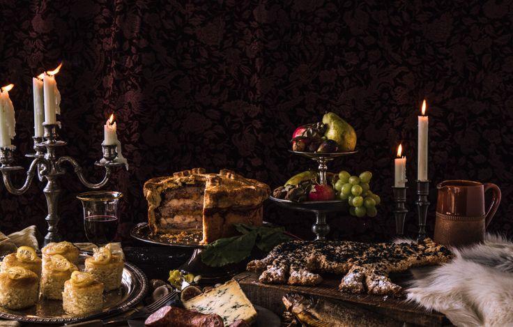 Game of Thrones recipes! Feast on pigeon pie, direwolf bread, and Sansa's lemon cakes.