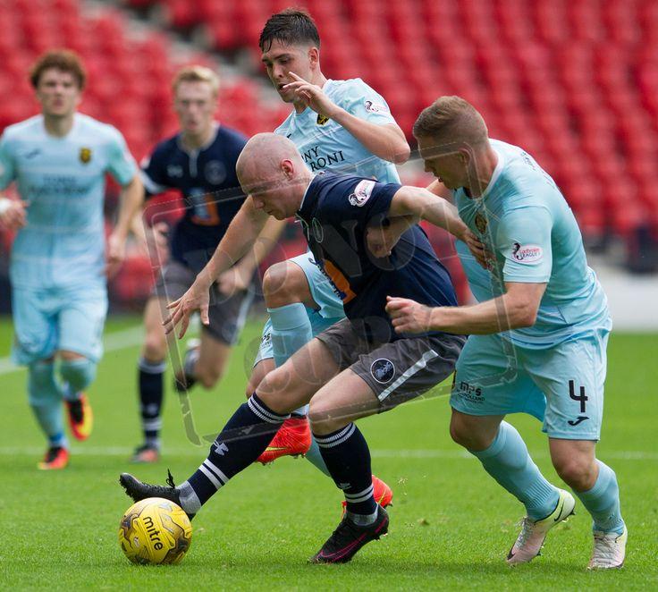 Queen's Park's Josh Watt in action during the Ladbrokes League One game between Queen's Park and Livingston.