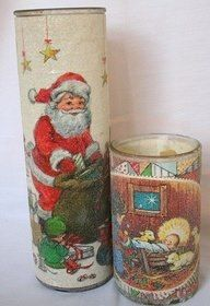 Christmas candles -- We sold these in band!