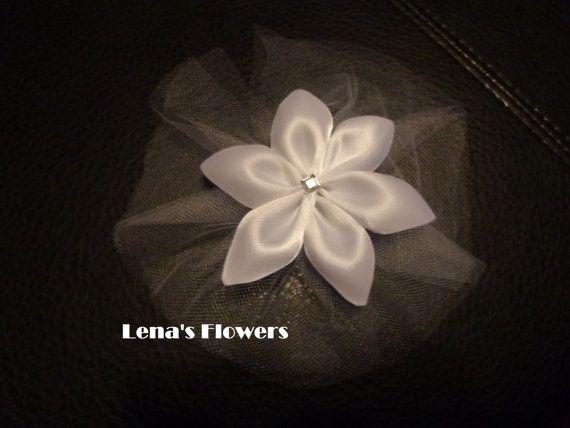Flower Girl Hair Accessories wedding by Ungheni on Etsy, $10.50