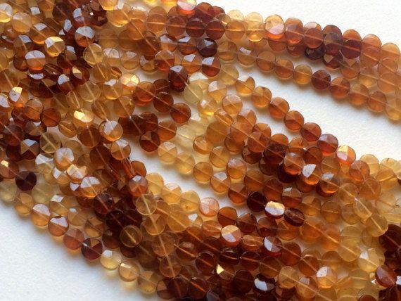 Hessonite Garnet Coins Hessonite Garnet Star by gemsforjewels