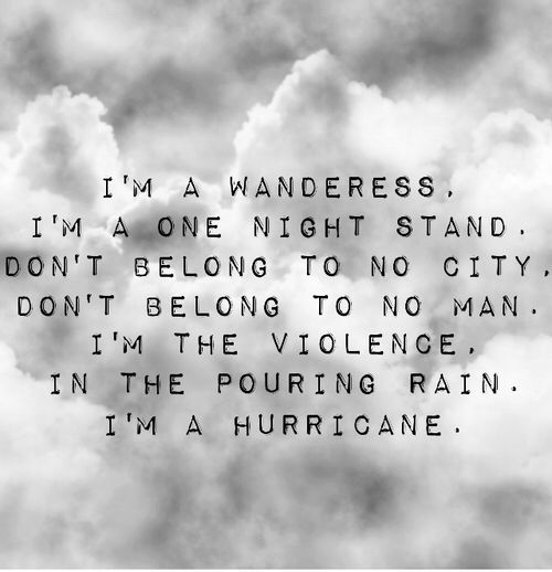 Halsey- hurricane