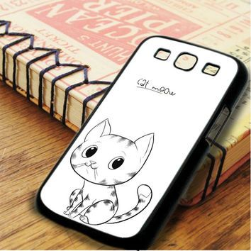 Cat Meow Samsung Galaxy S3 Case