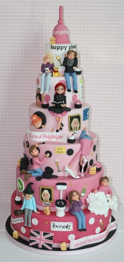 It's us!!!!!  By freubelmuisje on CakeCentral.com oh my gosh! how cute is this one