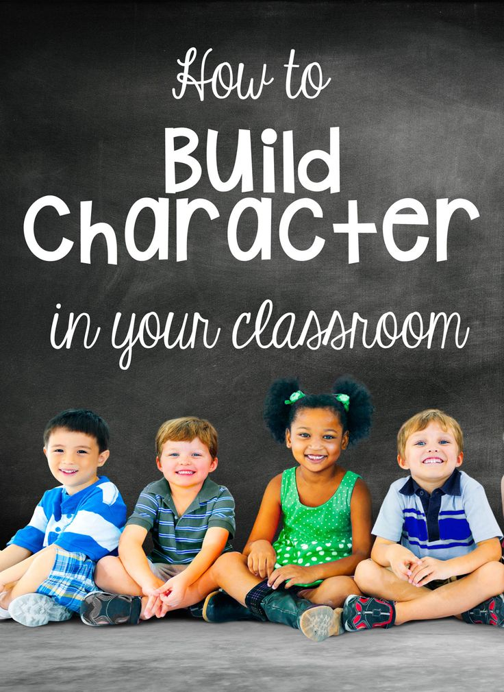 Character development in the classroom