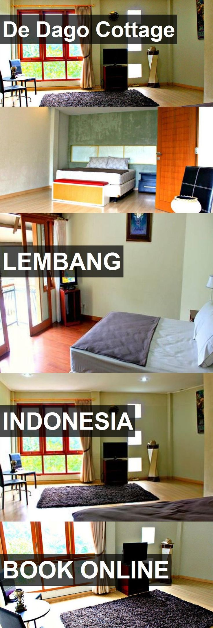 Hotel De Dago Cottage in Lembang, Indonesia. For more information, photos, reviews and best prices please follow the link. #Indonesia #Lembang #travel #vacation #hotel