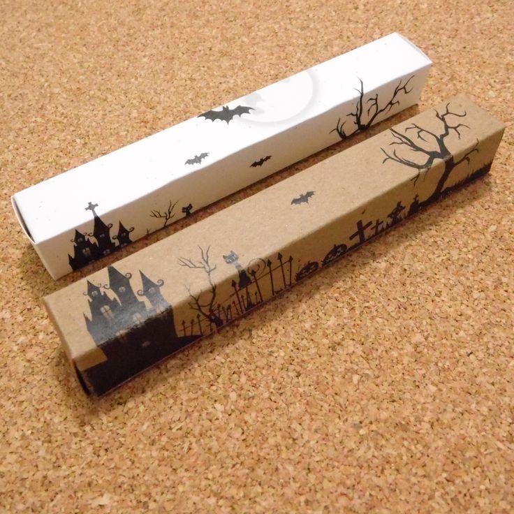Cajitas de Halloween. 100% pensados para tí #LetItBeBox y... ¡Podemos personalizarlas con tu marca! Conoce más en www.letitbebox.com ♥