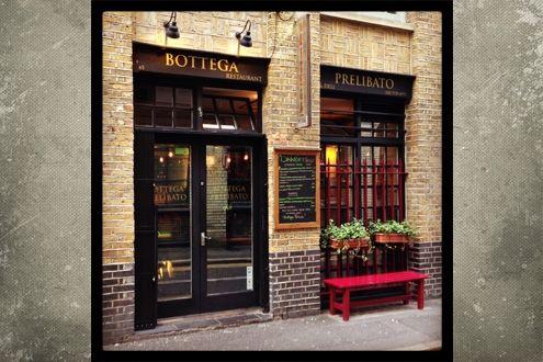 Bottega Prelibato, Shoreditch for excellent Italian food