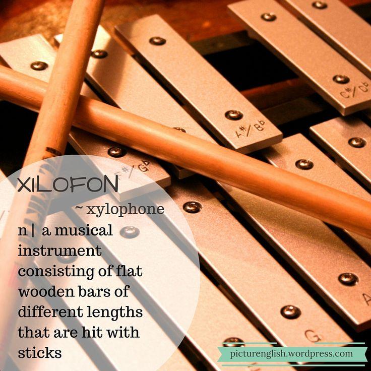 Xylophone / xilofon.