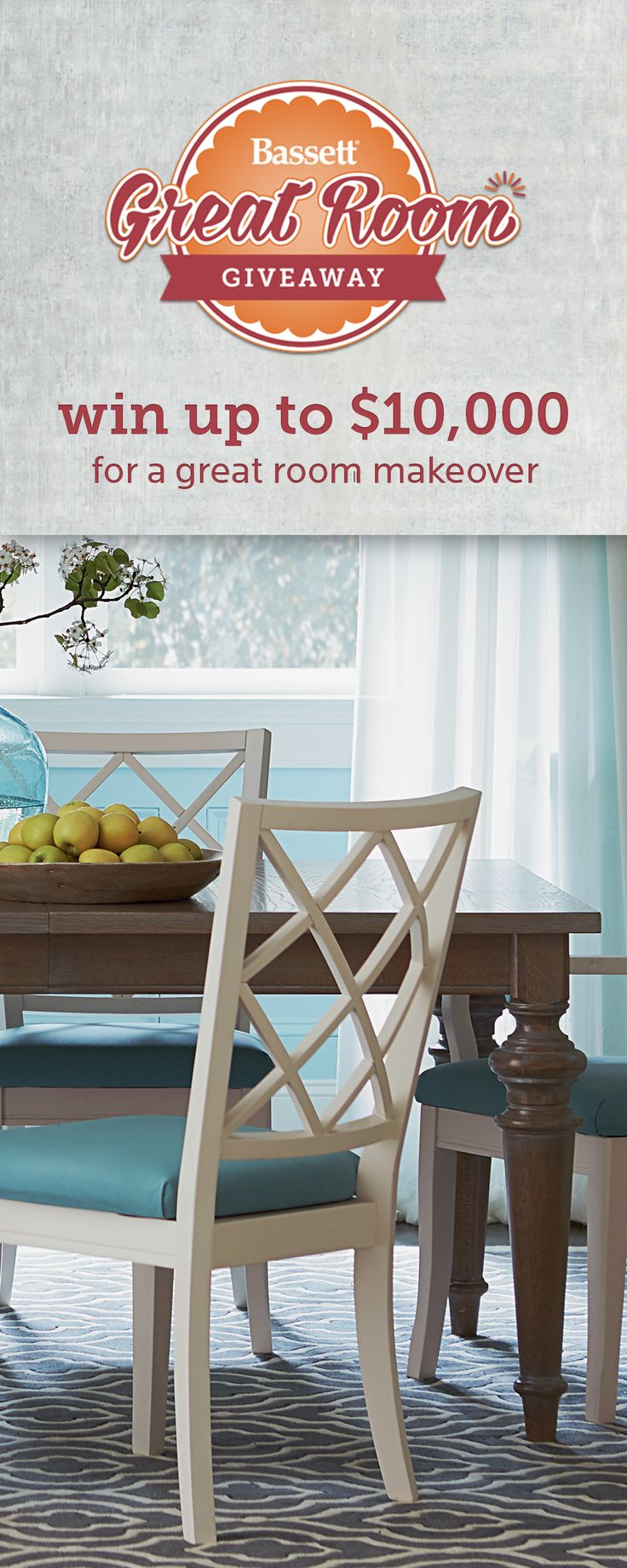 Enter Our Great Room Giveaway Today To Win One Of Three Makeovers NO PURCHASE NECESSARY Ends 11 13 16 Subject Entry Periods As Defined In The