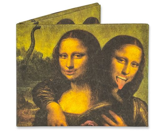 Mona Lisa Twins Created by BarmalisiRTB. Da Vinci's masterpiece had a twin and they love selfies, dinosaurs, and bubblegum.