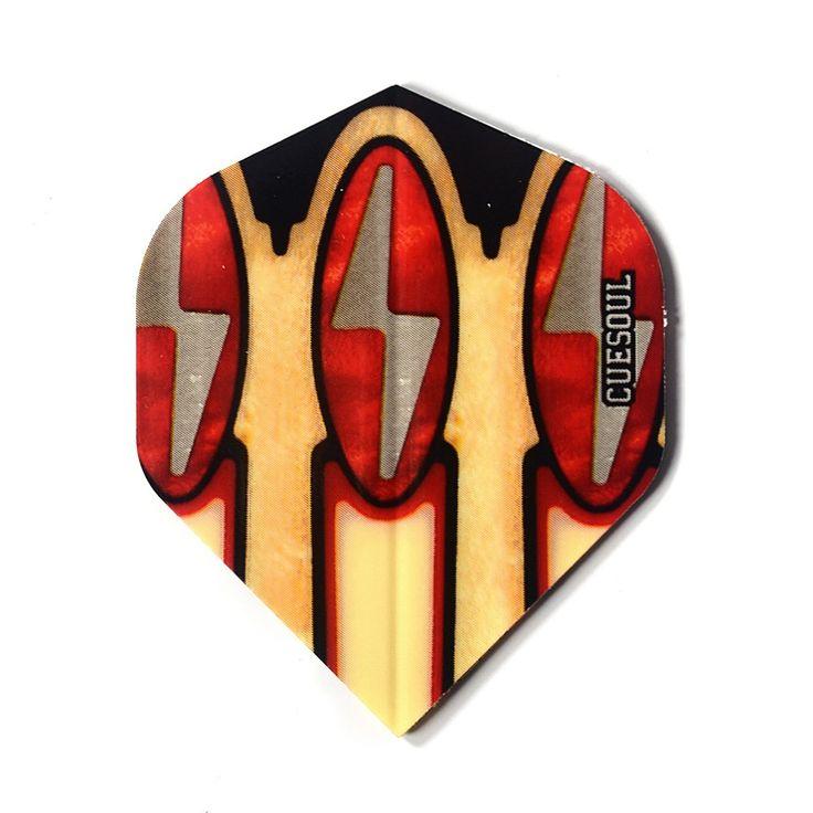 Cuesoul 30pcs/set  Coloful Tough Dart Flights Laser Dart Flights From Dart Game Accessories Supplies #Affiliate