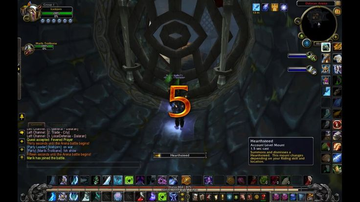 WoW Legion PvP Rated Arena on Frost DK - Dual DPS with a DH