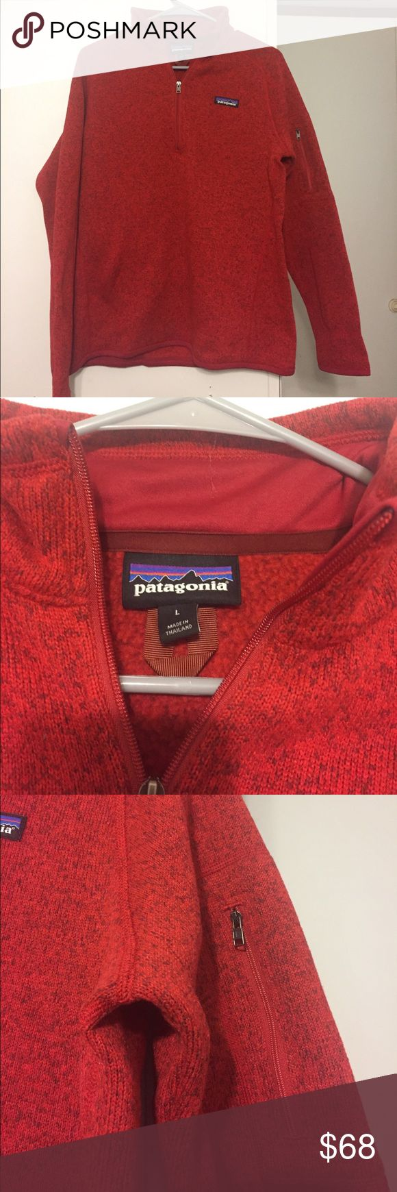 Patagonia Better Sweater Quarter Zip This pullover is absolutely gorgeous and has never been worn or washed. I would keep it but it does not fit me correctly. Patagonia Jackets & Coats