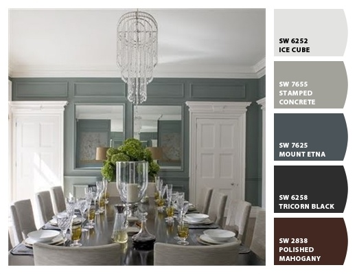 Let The Paint Color Palette In This Beautiful Dining Room Inspire Your Next  Room Makeover. Part 98