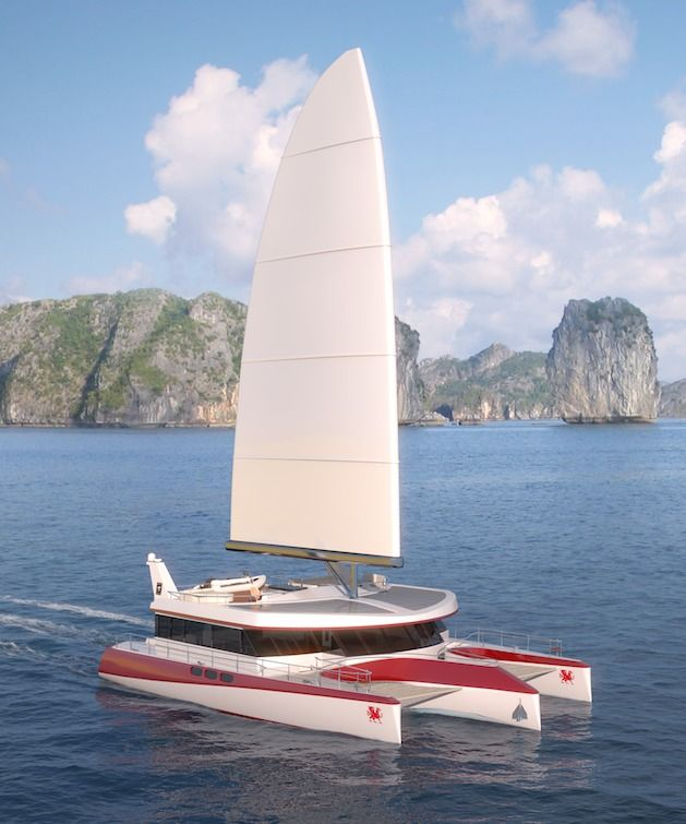 Dragonship 25m. The most cost effective Eco Super Trimaran | SuperYachters