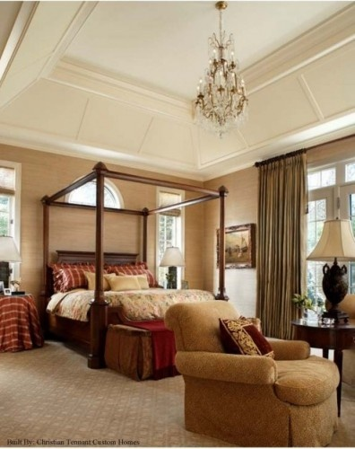 Master Traditional Bedroom Detroit Christian Tennant Custom Homes Home Ideas