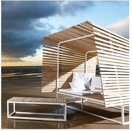 46 best images about mobilier urbain on pinterest ibm for Mobilier exterieur teck
