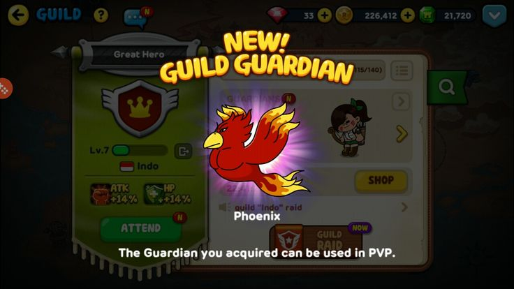 New Guild Guardian SUCCESS unlocked! #linerangers #new #guildguardian #success #phoenix #pvp
