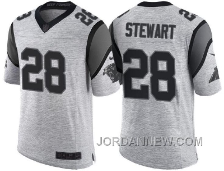 ... inexpensive buy nike carolina panthers jonathan stewart 2016 gridiron  gray ii mens nfl limited jersey lastest 6db102b60