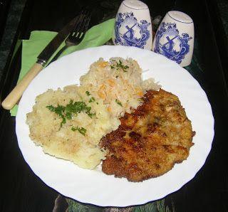 W Mojej Kuchni Lubię.. : kotlet schabowy na obiad...
