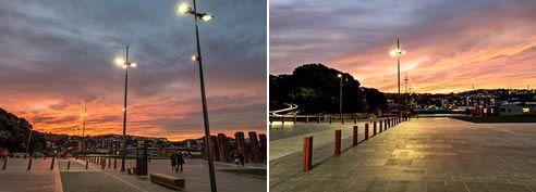 coastal led area lighting wellington by WE-EF