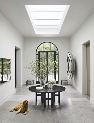 Contemporary Entrance Hall by Steven Volpe Design and Butler Armsden Architects in San Francisco, California