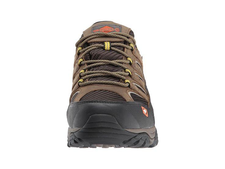Merrell Work Moab 2 Vent Waterproof SR Men's Lace up casual Shoes Boulder
