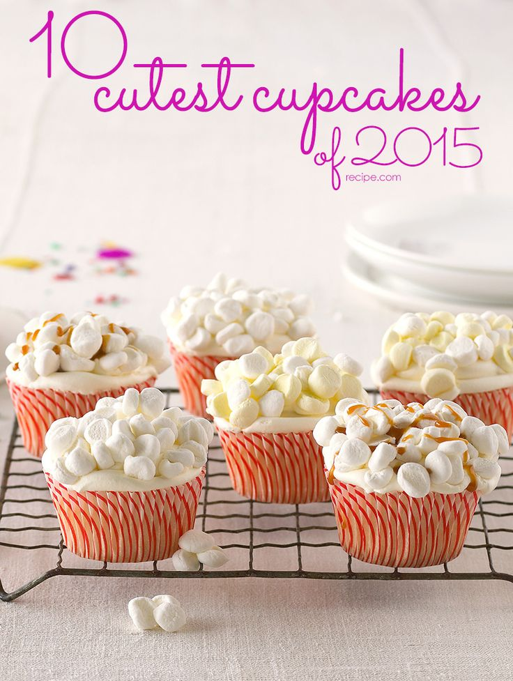 Aww Check Out The 10 Cutest Cupcakes Of 2015 Cupcakes