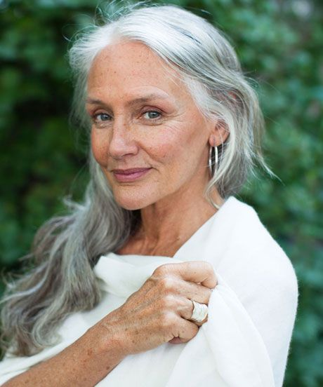How This 63-Year-Old Model Stays Gorgeous #refinery29 #celebrate age http://www.refinery29.com/51442